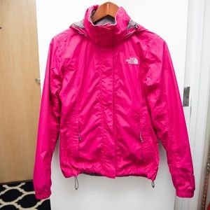 The North Face Women's Resolve Rain Jacket Pink